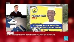 Chad's President Deby has died of injuries suffered on frontline, says army spokesman
