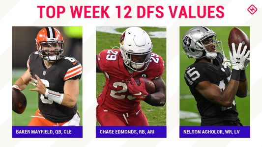 Week 12 NFL DFS Picks: Best value players, sleepers for DraftKings, FanDuel daily fantasy football lineups