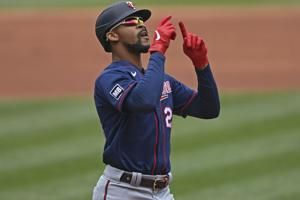 Buxton gets 5 hits, Twins homer 6 times in rout of Indians