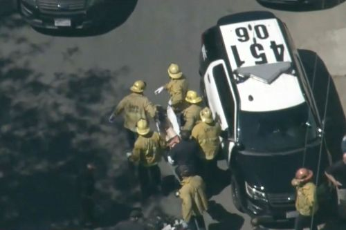 Burglar shoots off-duty LAPD cop after stealing his service weapon and bulletproof vest