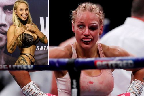 Ebanie Bridges went from lingerie controversy to gruesome injury: 'Eyes bigger than my boobs'
