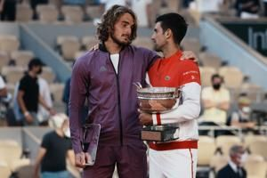 Tsitsipas says his grandmother died just before French final