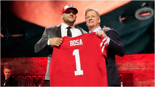 NFL Draft 2019: Nick Bosa 'excited to go kick butt' with 49ers