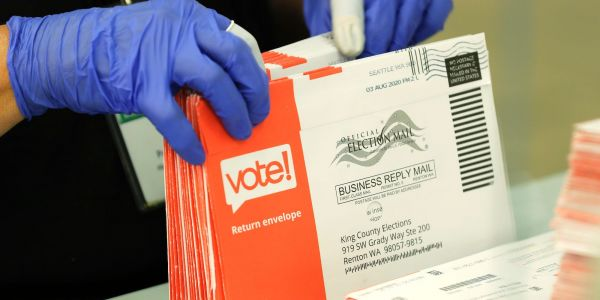 Postal Service warns Pennsylvania that mail-in ballots may arrive too late