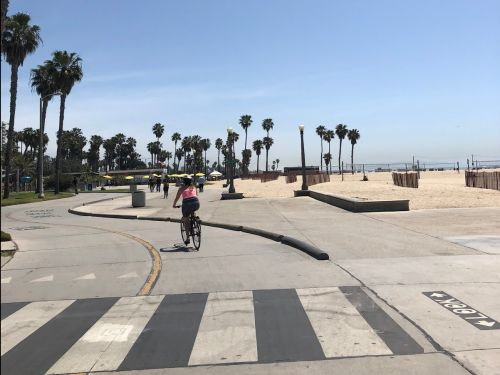 My husband and I quit our jobs in NYC to bike across the country and relocate to LA. Here's exactly how we broke even in costs and job searched on the ride