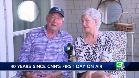 Former KCRA 3 anchors recall first day launching CNN 40 years ago
