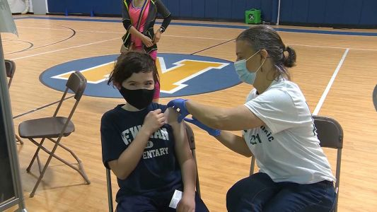 Local town offers weekend COVID-19 vaccination clinic for kids as young as 12