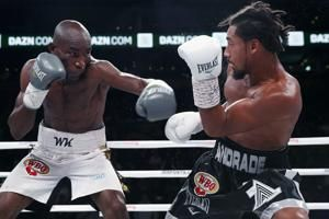 Andrade wins WBO middleweight title with unanimous decision