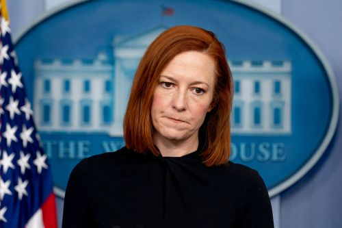 Jen Psaki won't directly say where Biden's 'red line' is on sexual misconduct claims