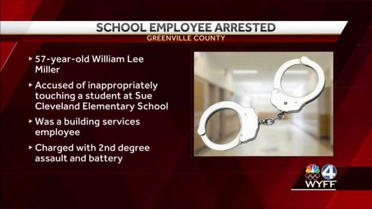 GCS employee charged with touching elementary school student inappropriately, deputies say