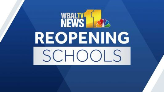 Teachers, staff welcome Howard County students back for in-person learning
