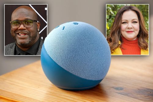 Amazon Alexa now features voices of Shaquille O'Neal, Melissa McCarthy