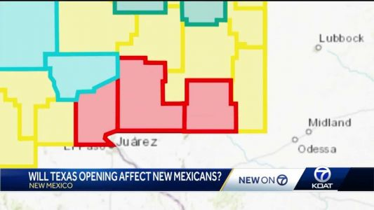 Texas announcement stirs up mixed reactions at New Mexico-Texas border