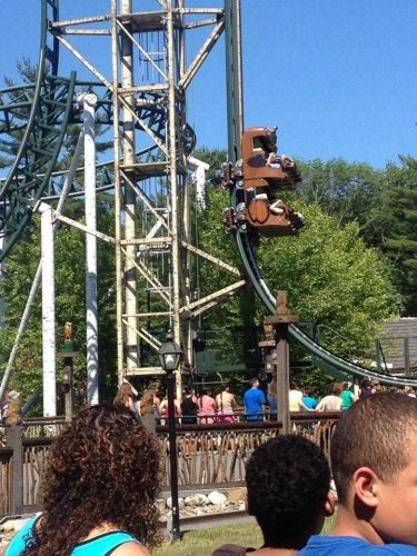Amusement park officials hope to get rides running again