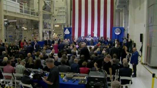 LIVE: Vice President Pence takes part in moon landing anniversary at Kennedy Space Center