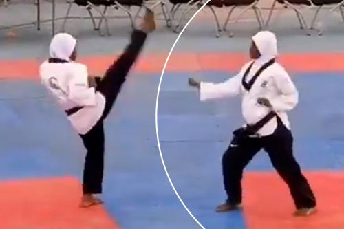 Expectant mom wins Tae Kwon Do gold at 8 months pregnant