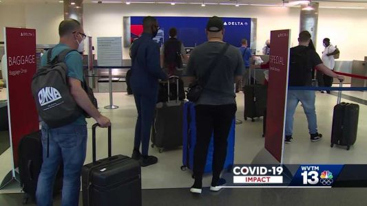 For the first time in more than a year, 2 million people go through US airports