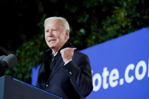 Biden lays into Trump while campaigning for Terry McAuliffe in Virginia