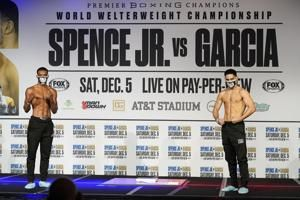 Spence set to face Danny Garcia in 1st fight since car crash