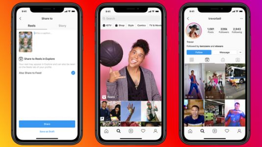Facebook Launches Reels, Hoping To Lure TikTok Users