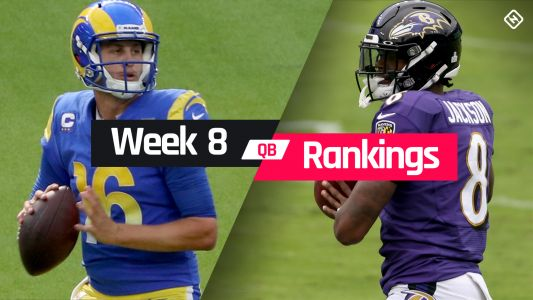 Week 8 Fantasy QB Rankings: Must-starts, sleepers, potential busts at quarterback