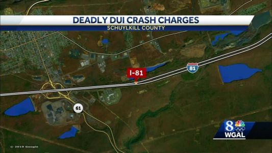 Man charged in fatal DUI crash on I-81