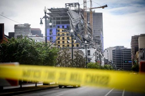 3 months after New Orleans Hard Rock Hotel collapse, the bodies of 2 killed are still there