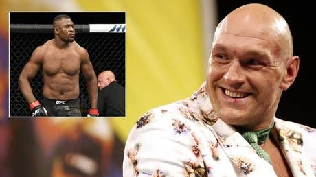 'I'd smoke you in the first round': Fury escalates spat with UFC champ Ngannou after row which dragged in Mike Tyson
