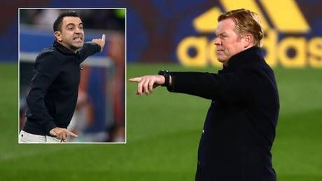 Barcelona boss Koeman MUST win La Liga to avoid being sacked and replaced by club legend Xavi - reports