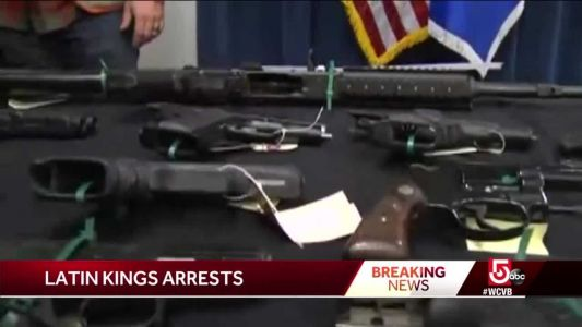 Dozens of Latin Kings members arrested in sweep