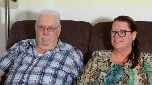 Dad and daughter meet for first time in 53 years through DNA testing - just in time for Father's Day