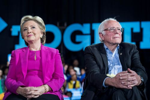 Hillary Clinton claims 'nobody likes' Bernie Sanders in new interview
