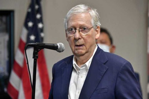 McConnell urges Americans: 'Get vaccinated' or risk shutdown