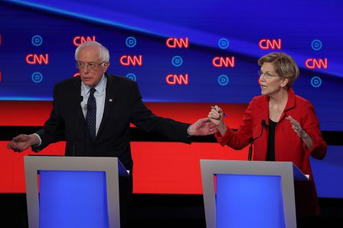 Top Democratic candidates threaten to skip debate amid labor fight