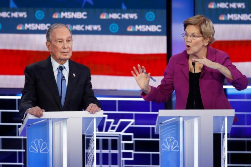 Warren blasts Bloomberg over nondisclosure agreements at Democratic debate