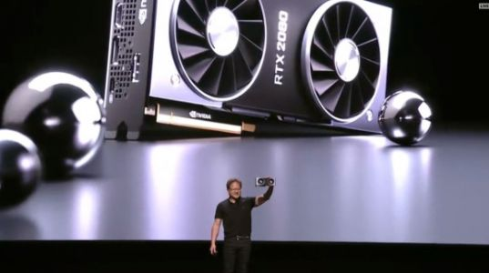 Nvidia unveils GeForce RTX graphics chips for real-time ray tracing games