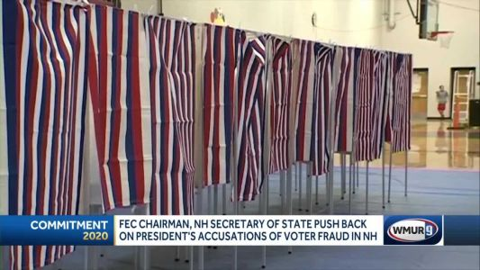 Officials say Trump's NH election fraud claims aren't backed up by evidence