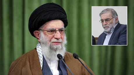 Iran's Supreme Leader Khamenei pledges to 'firmly prosecute' those behind assassination of top military scientist