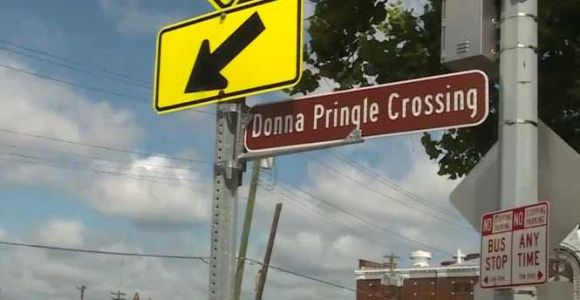Beloved West End resident remembered with crosswalk in her honor