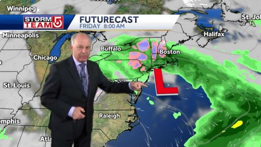 Video: Skies will remain cloudy this week ahead of potential nor'easter