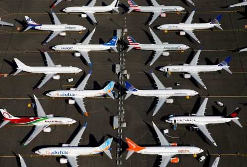 Boeing's credit outlook was just cut to 'negative' by a ratings agency, which cited the 737 Max crisis