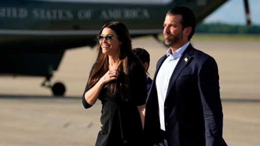 Kimberly Guilfoyle, Trump campaign official and girlfriend of president's son, tests positive for coronavirus