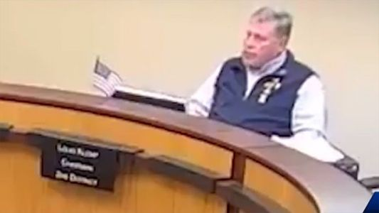 County leader under fire after racially motivated 'master race' comment