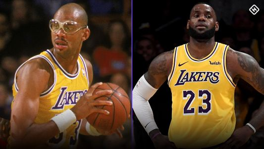 With Kobe Bryant and Michael Jordan behind him, can LeBron James catch Kareem on all-time scoring list?
