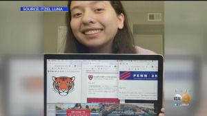 'Absolutely Shocked': California Teen Accepted To 5 Ivy League Schools And Stanford