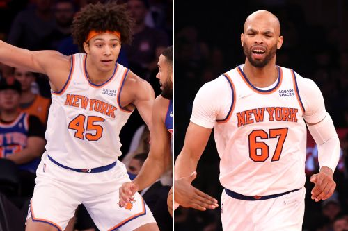 Knicks may need Jericho Sims in opener with Taj Gibson out