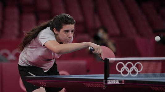 A 12-Year-Old Syrian Makes Her Olympic Debut
