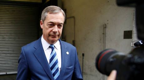 Police probe Nigel Farage over threat to 'KNIFE' civil servants post-Brexit