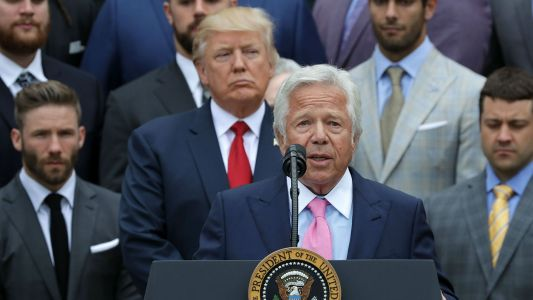 Patriots owner Robert Kraft calls Donald Trump 'divisive and horrible' in leaked recording from 2017 meeting