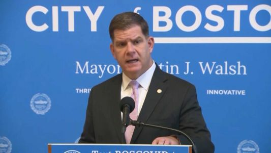BMC, Boston EMS officials to join Mayor Walsh for COVID-19 update